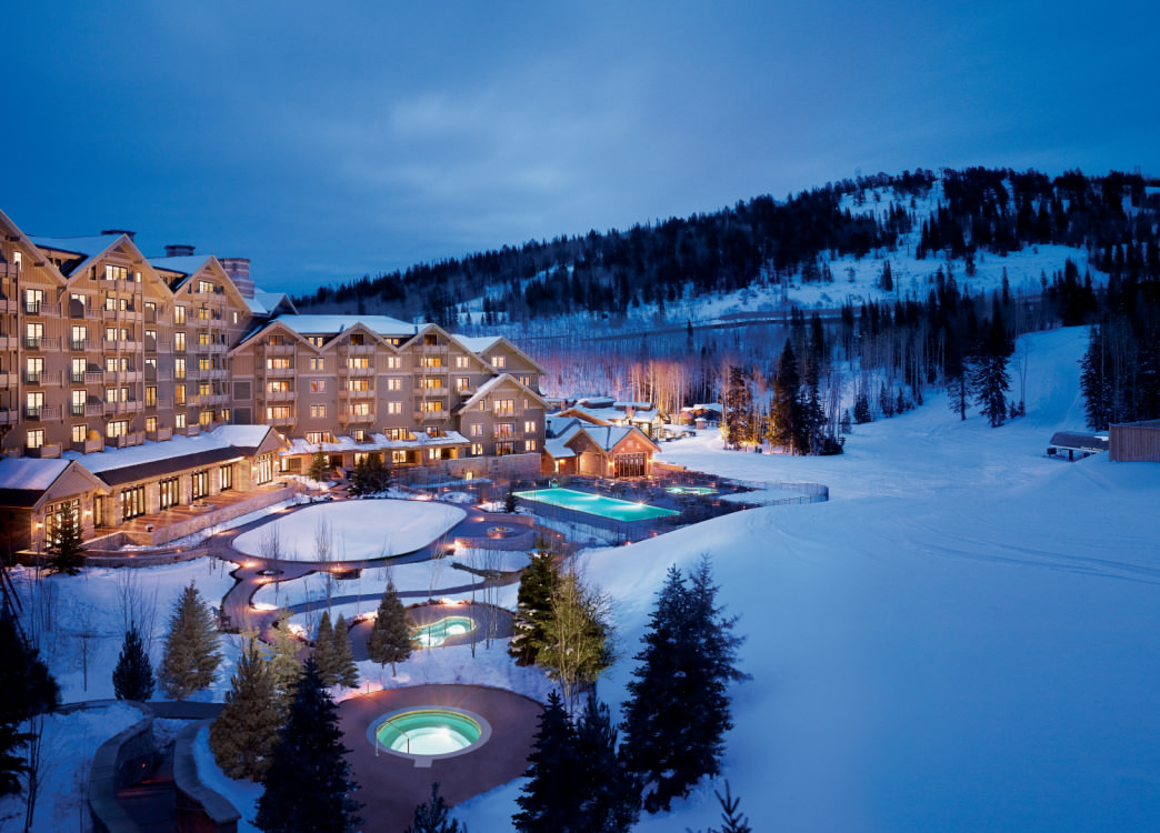 Montage Deer Valley offers excellent ski-in/ski-out access, yet is only five minutes from Main Street in Park City.