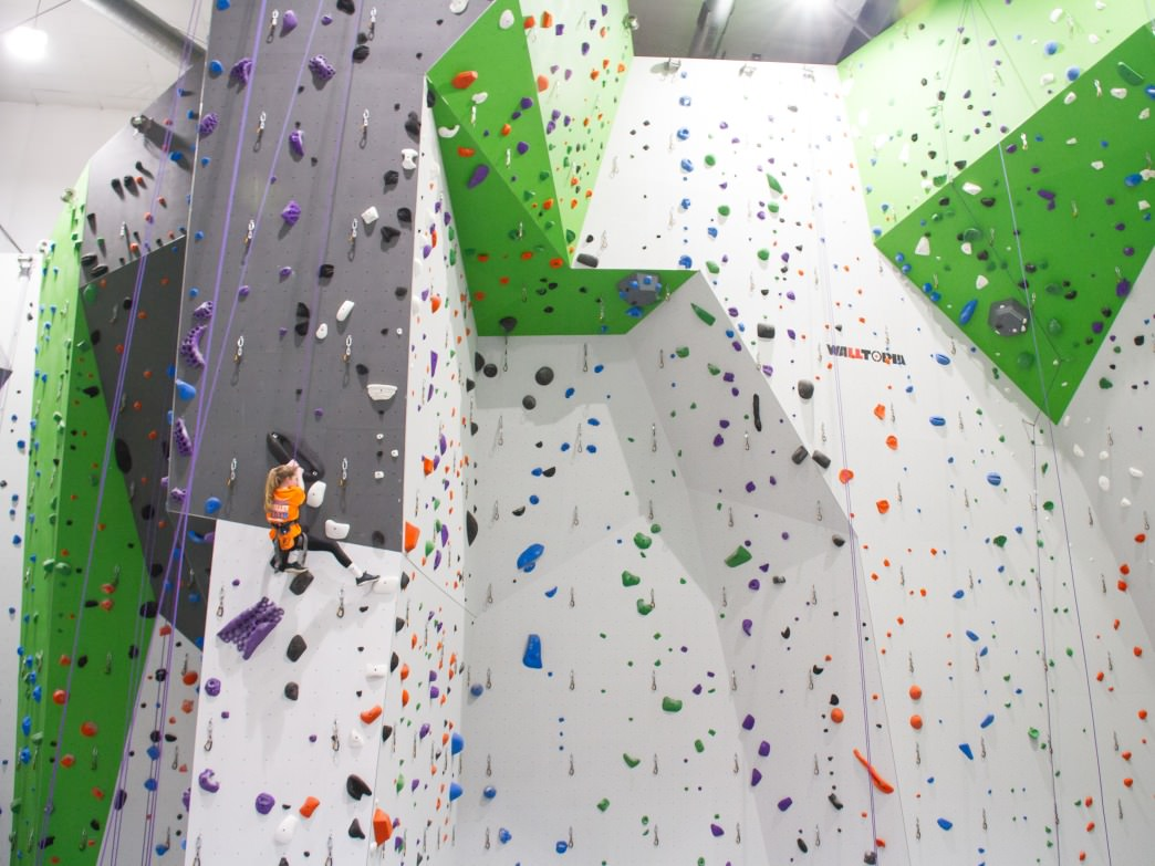 Onsight features the most indoor climbing space in Knoxville.