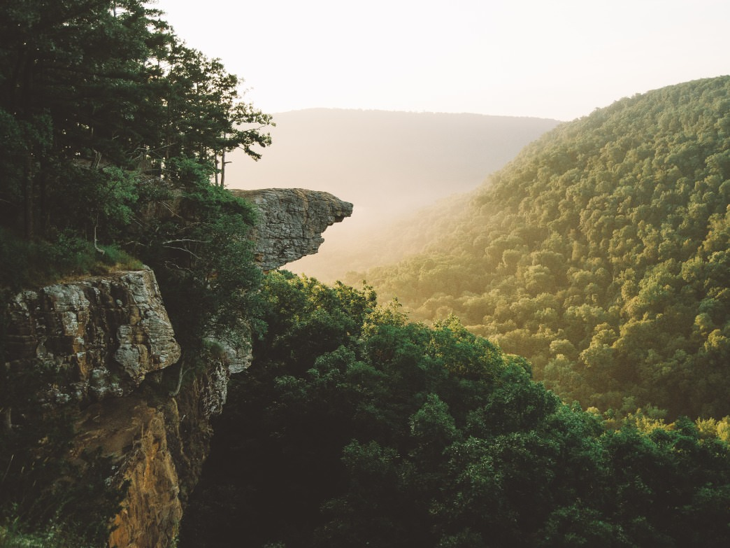 Whitaker Point, Hawksbill Crag.