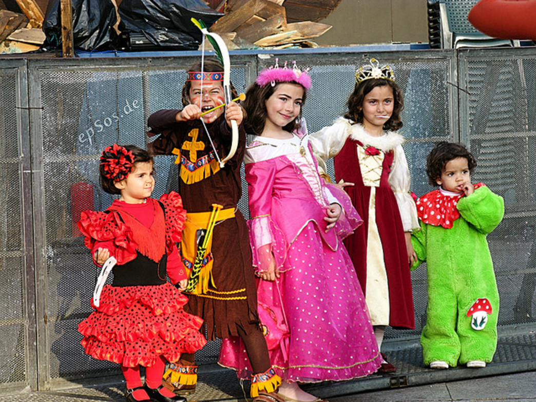 Dress up your kids and get ready to trick-or-treat in the Village after the Halloween concert.