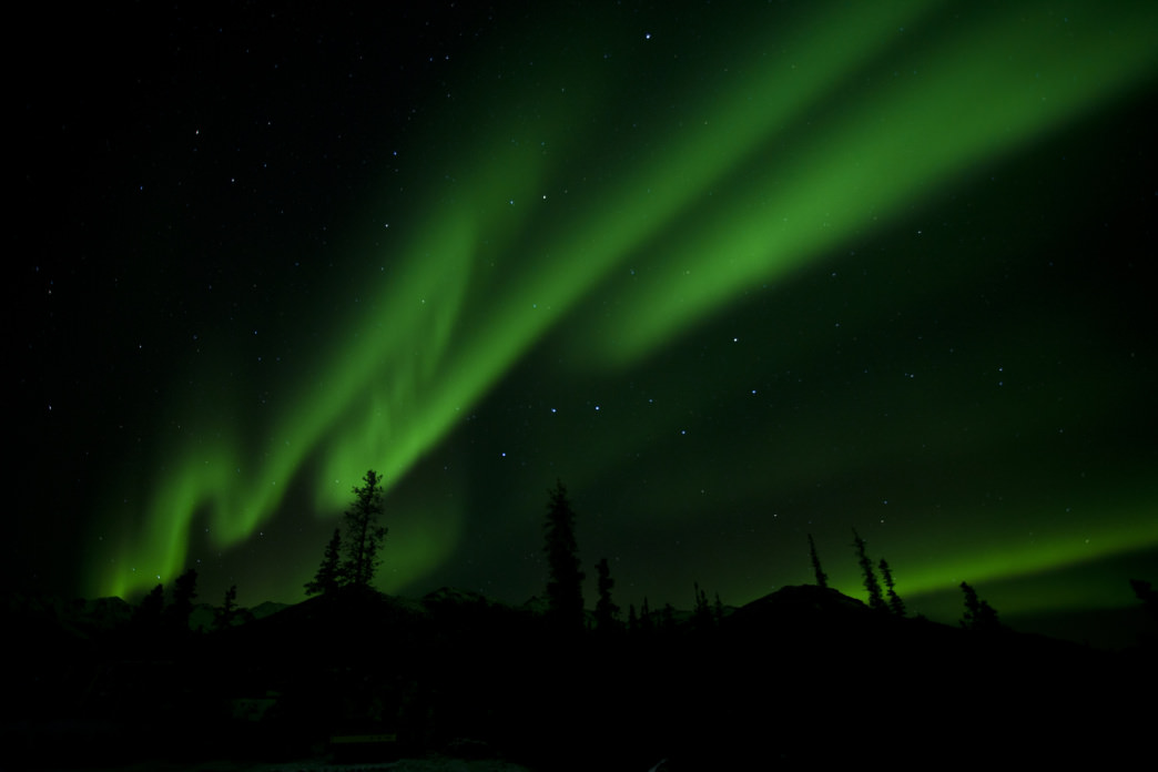 Denali National Park and Preserve is way closer than Scandinavia to see the Northern Lights.
