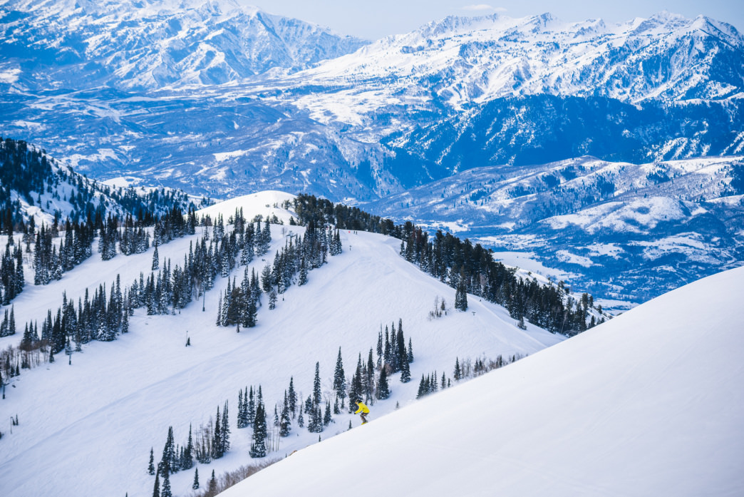 In winter, Ogden is surrounded by some of the best powder in the state.