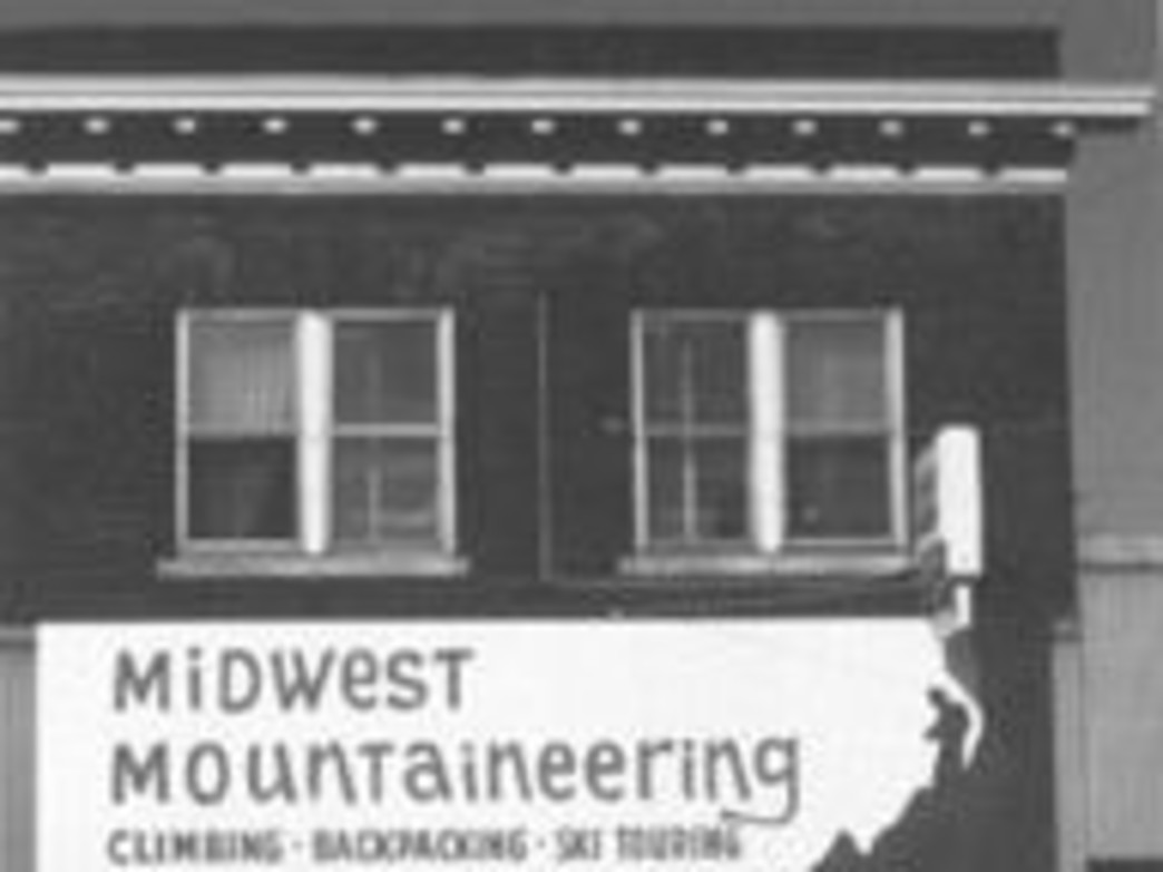 In the beginning......Courtesy of Midwest Mountaineering