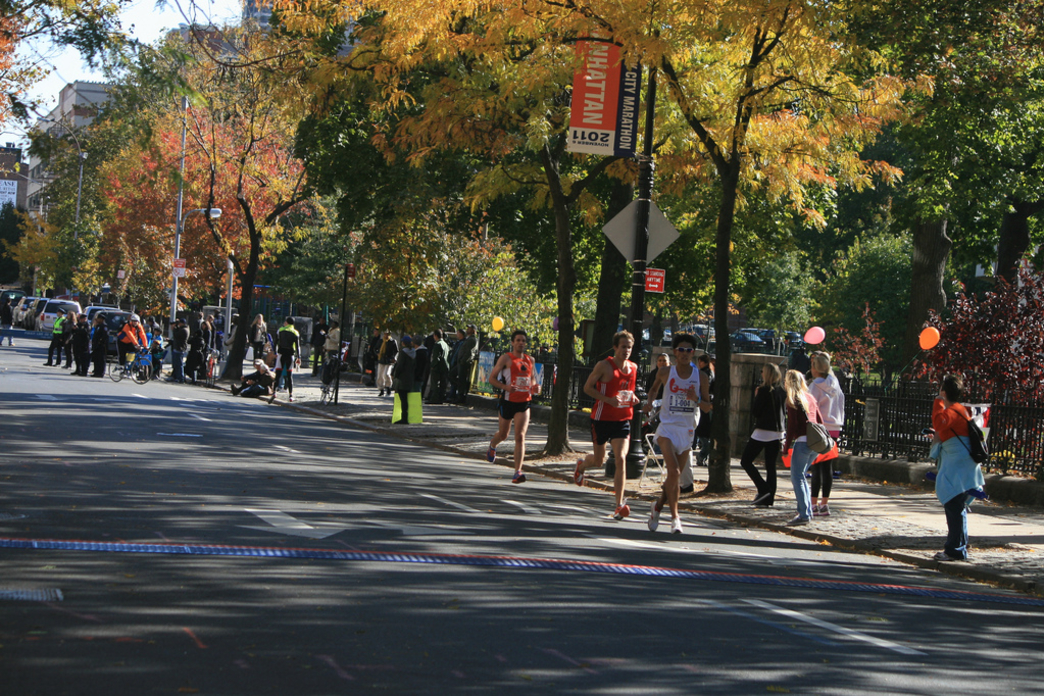 A spectator's guide to the new york city marathon food and fun.