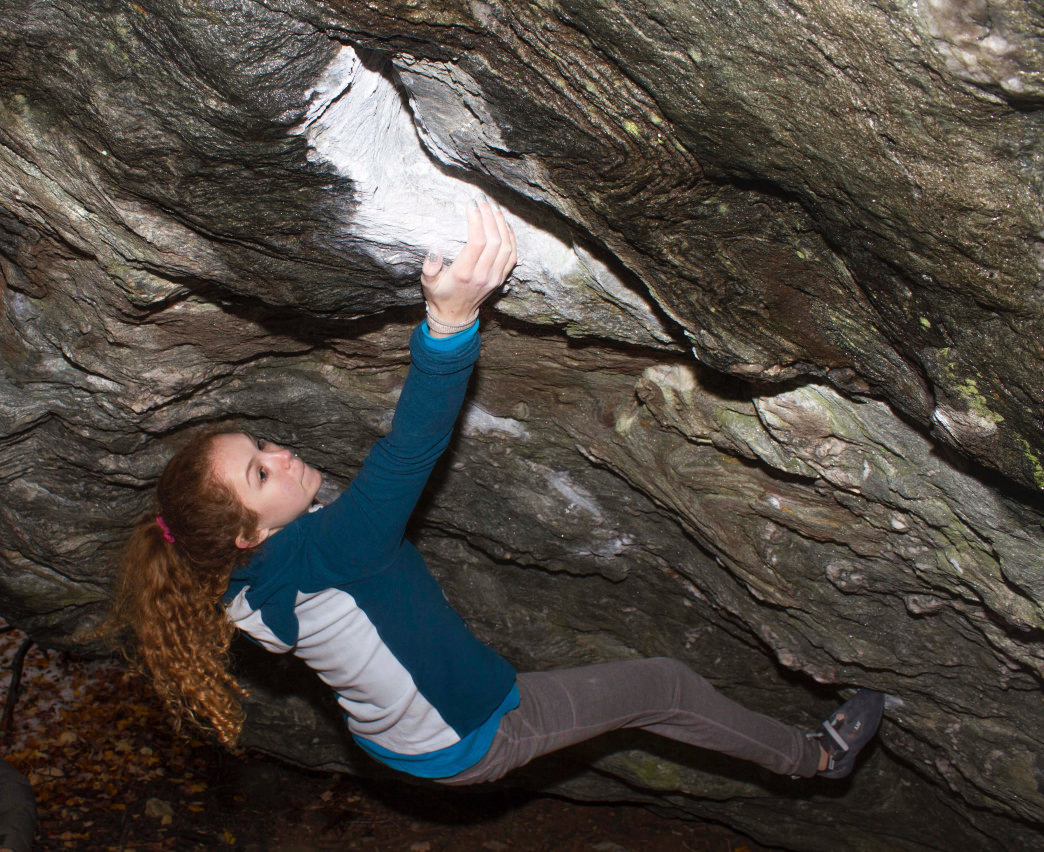 Lily Canavan has always been somewhat of a natural when it comes to climbing. Colby Yee