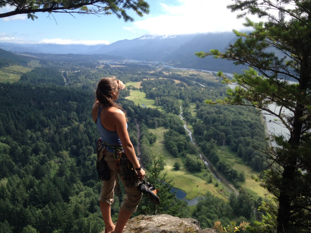 Beautiful views awaits at Beacon Rock.