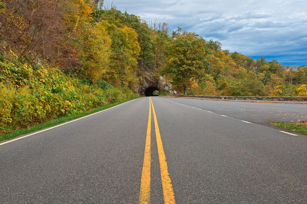 Skyline Drive offers spectacular views of Shenandoah National Park without leaving your car.