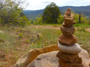 Cairn on Animas Mountain