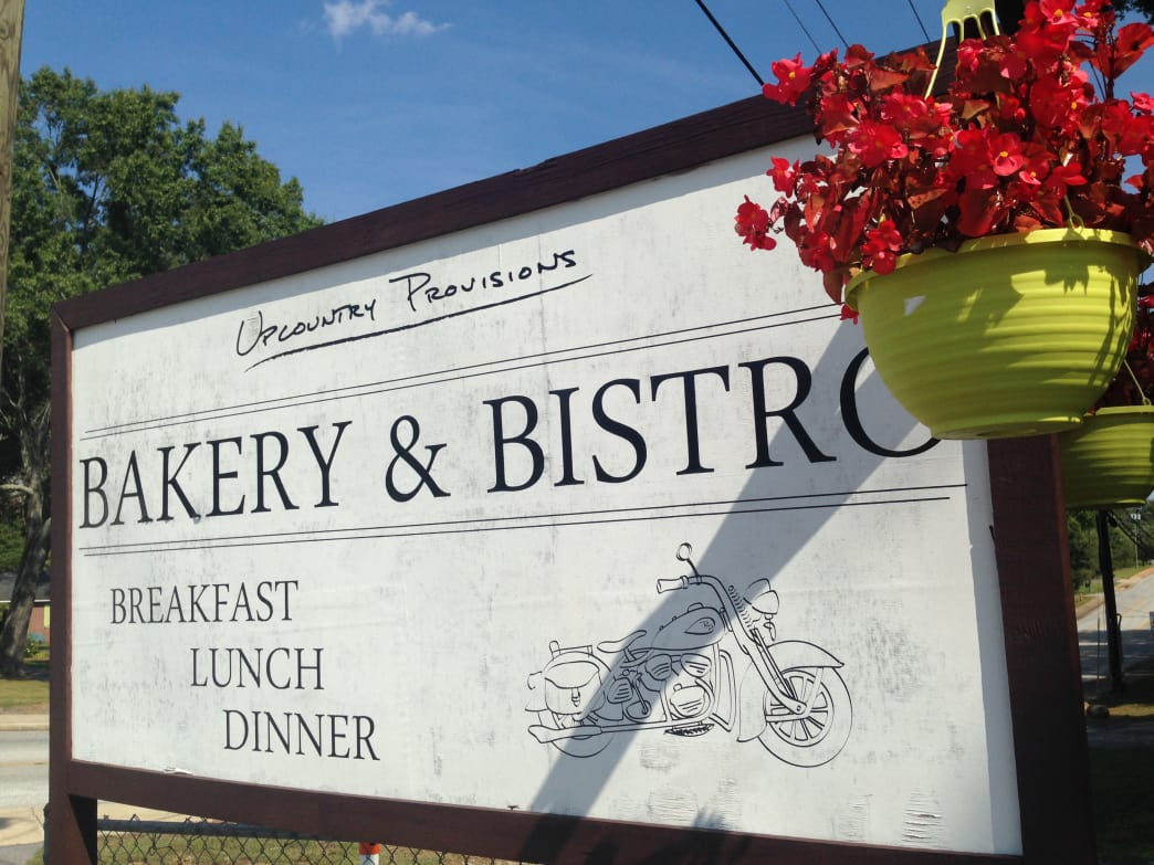 Upcountry Provisions is a great spot for lunch and coffee.