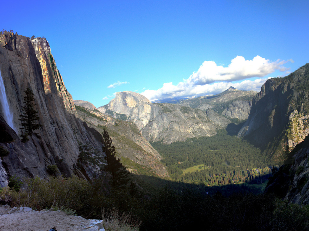 From the Yosemite Falls Trail