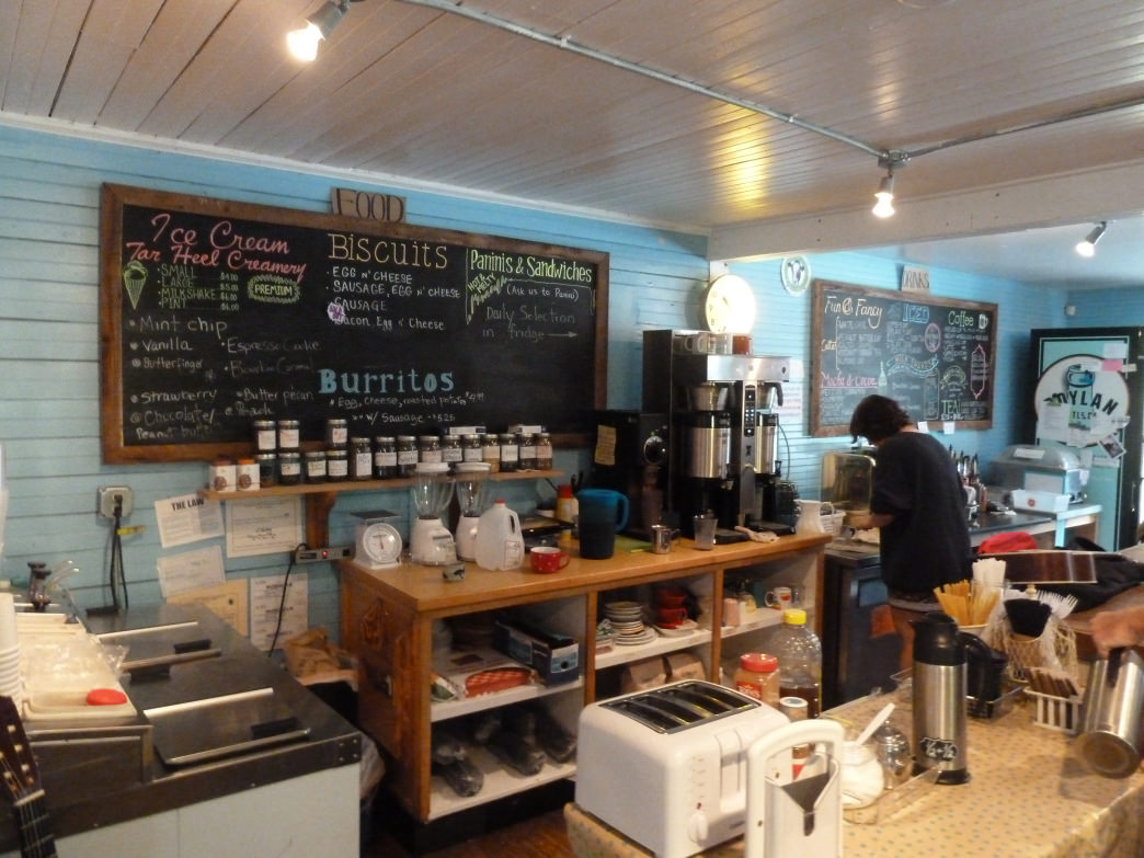 Comfy, quirky, and welcoming, Johnny's serves awesome coffee and conversation.
