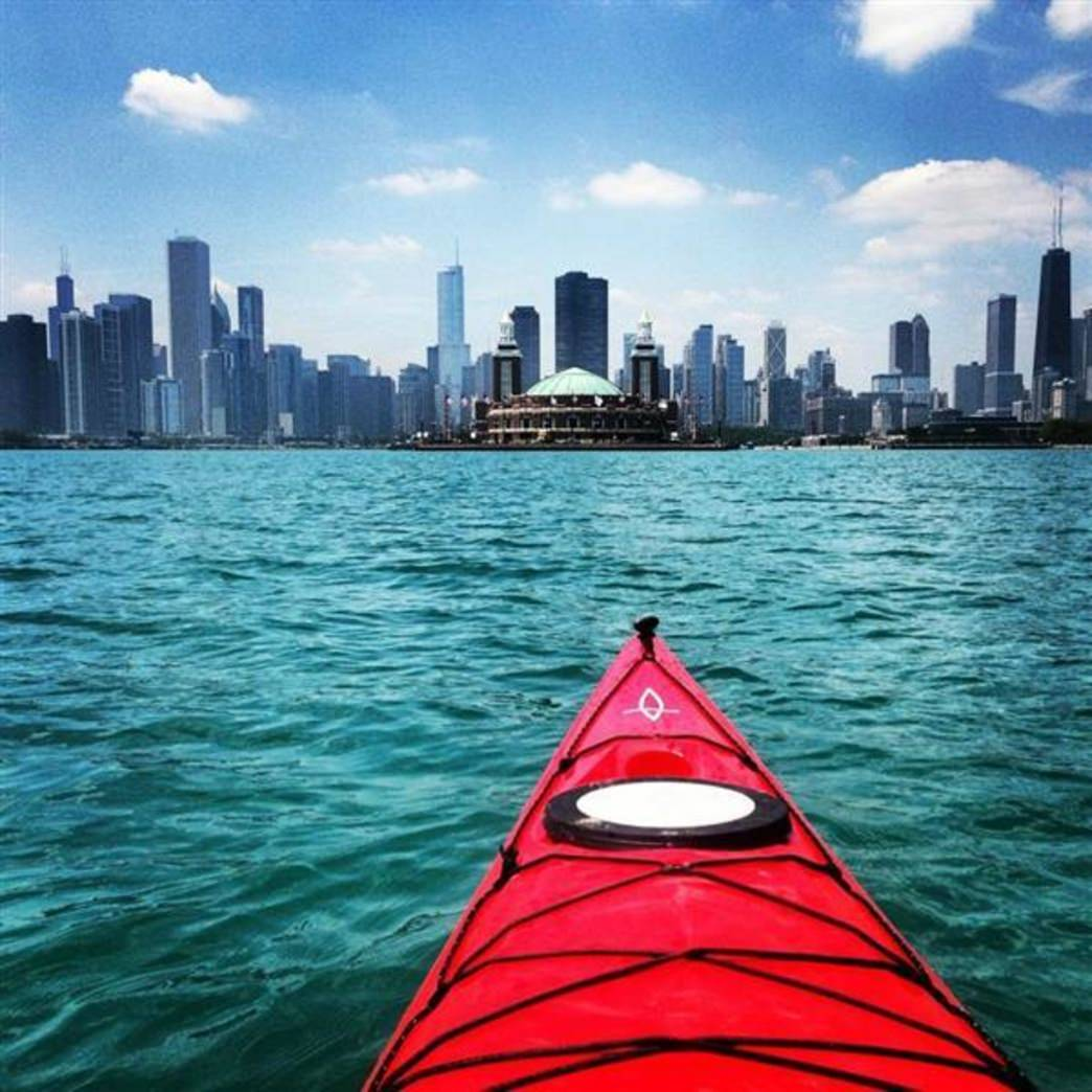 Made In Michigan >> Lake Michigan Chicago Paddling