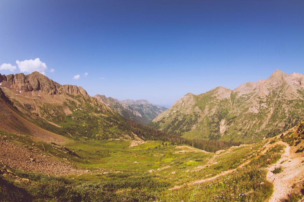 The Weminuche Wilderness in all its glory.