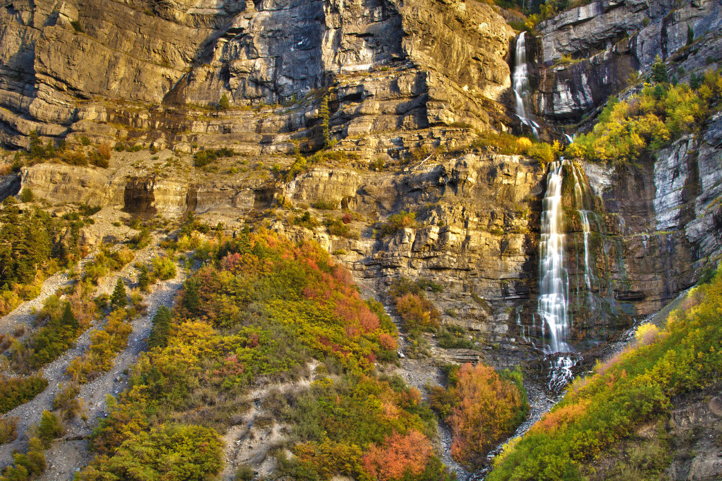 Bridal Veil Falls is one of the area's must-visit spots.