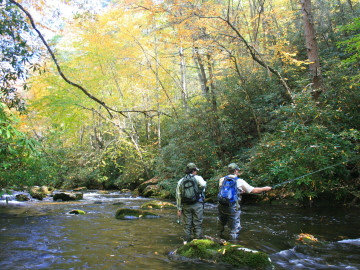 Backpacking and camping destinations in chattanooga tn for Fly fishing chattanooga