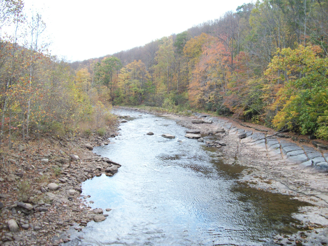 The Otter Creek Wilderness entrance along the Dryfork River delivers visitors into the majesty of Otter Creek.