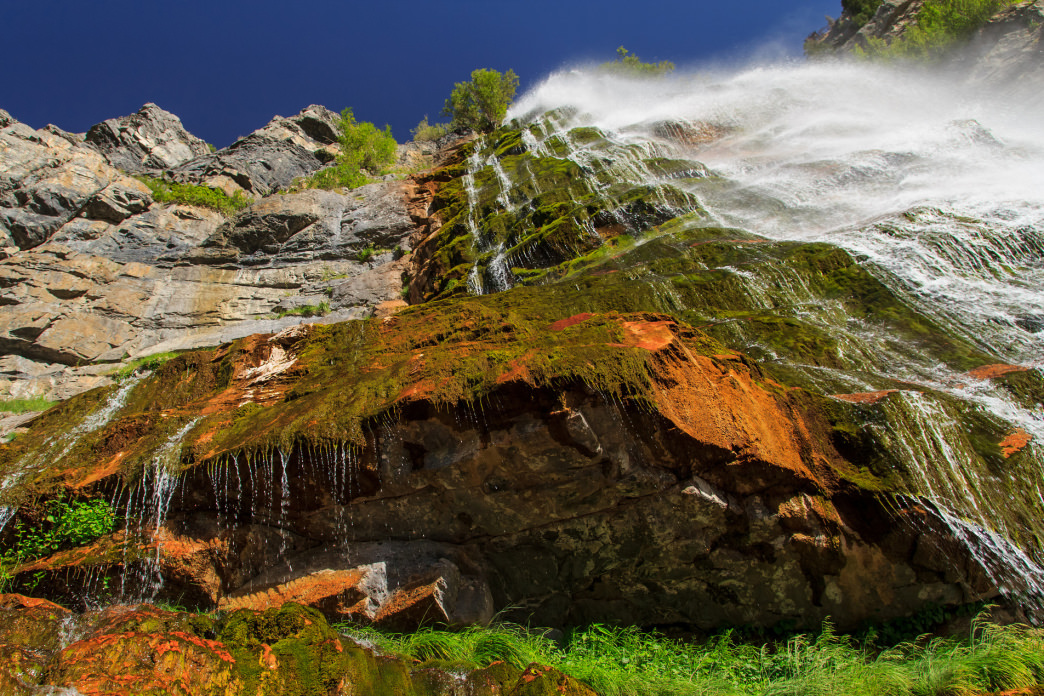 Soak up waterfalls like this one, Bridal Veil Falls, on one of many hikes around Park City.