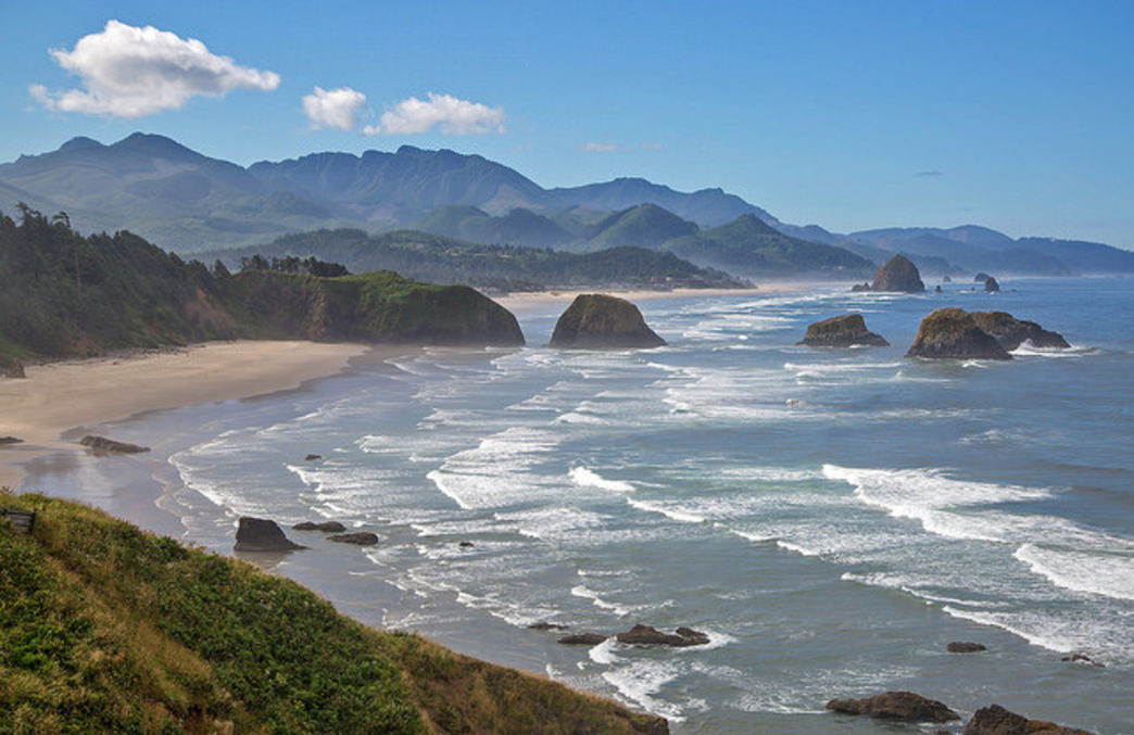 Ecola State Park is home to nearly 10 miles of trails.