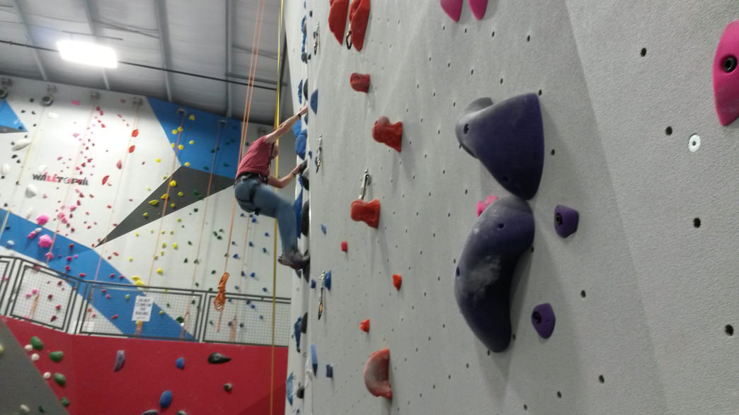 Located in a booming area of south Charlotte, the new Inner Peaks makes indoor climbing accessible to a whole new crew of climbers.
