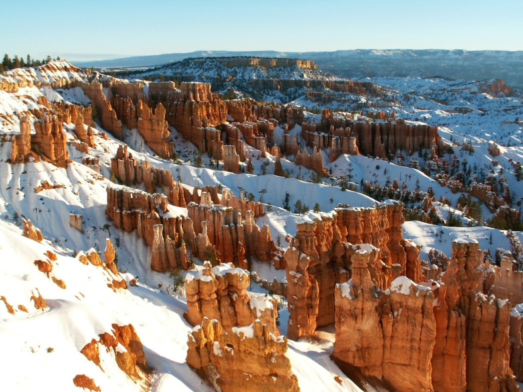Bryce Canyon is an epic snowshoe playground.