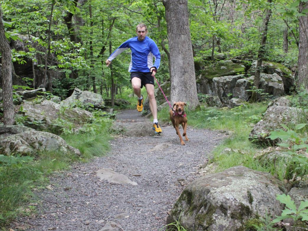 The 12-mile St. Croix Trail offers great routes for trail runners.