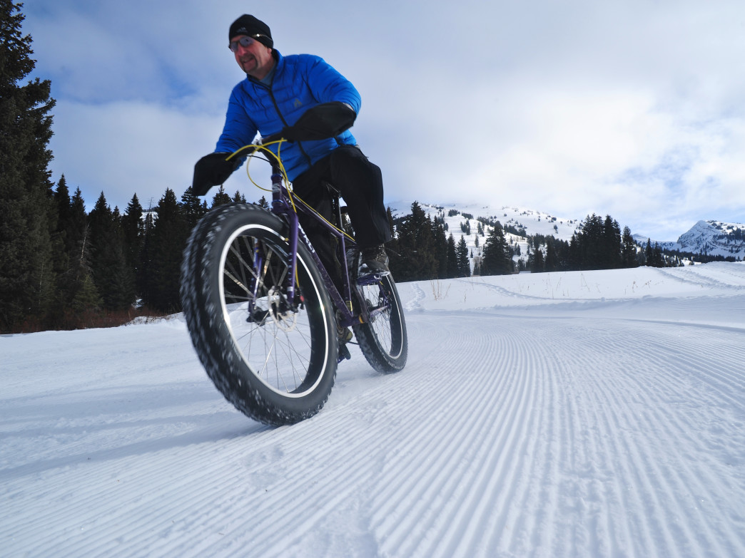 Grand Targhee was the first U.S. ski resort to welcome fat bikes on their Nordic trails.