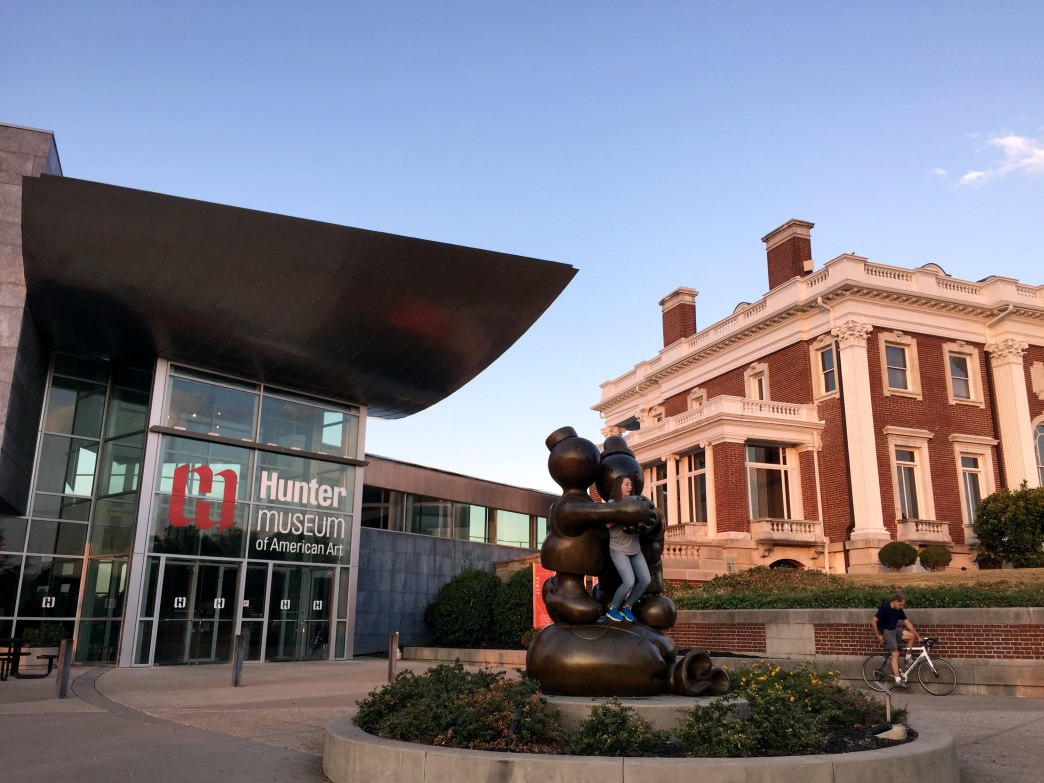 For culture housed indoors, head to the Hunter Museum. Mariel Groppe