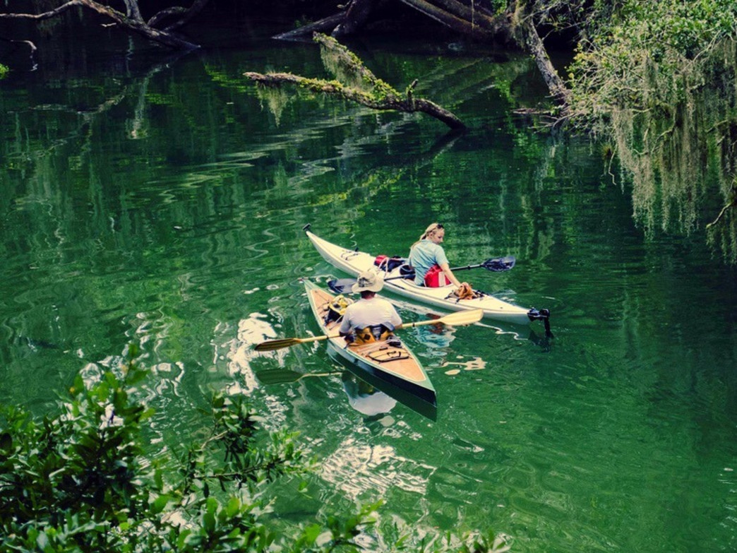 Blue Springs State Park is a perfect spot for paddling with a date.