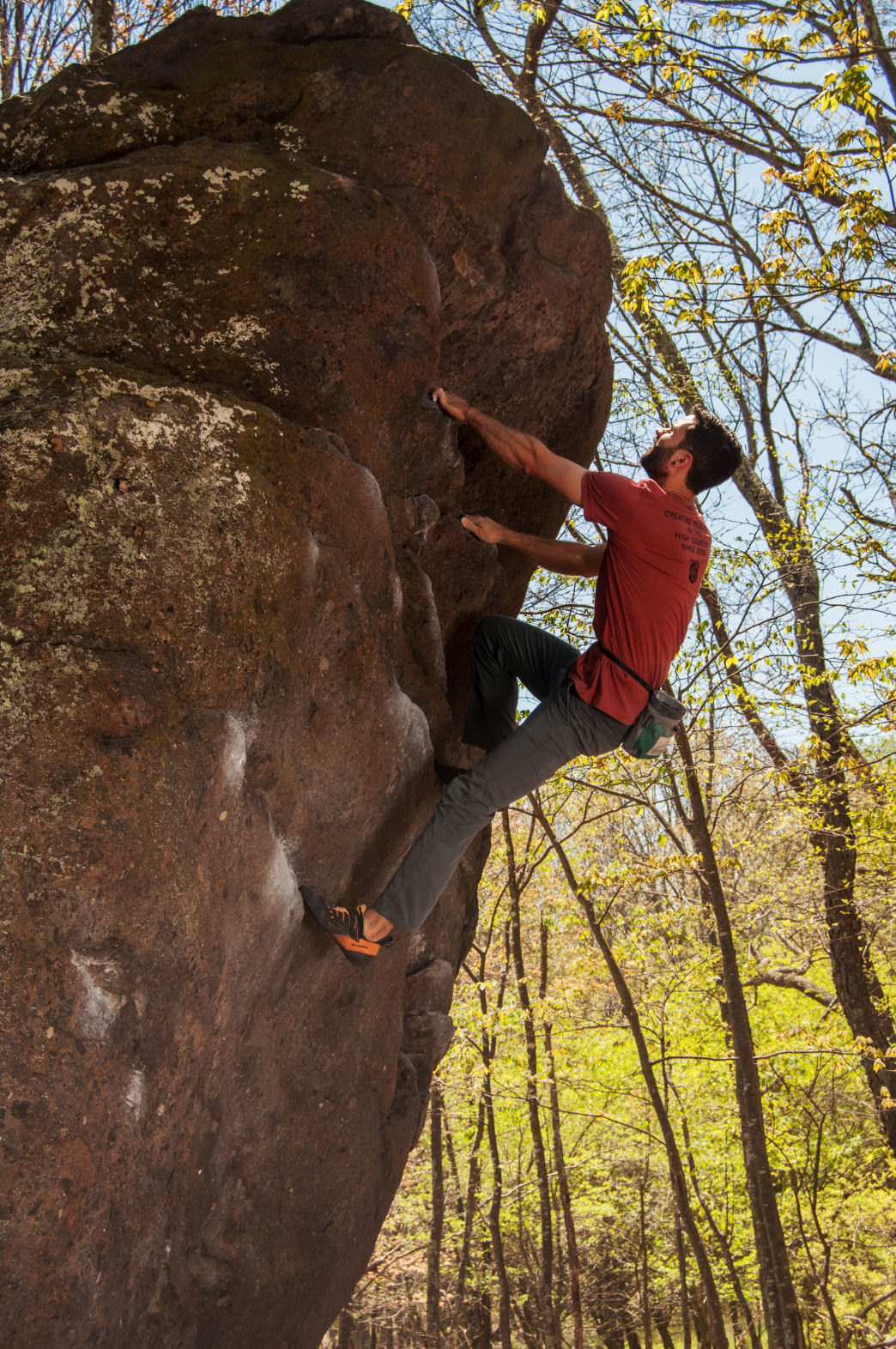 Grayson Highlands State Park features Virginia's two tallest peaks and some of the best bouldering in the region.