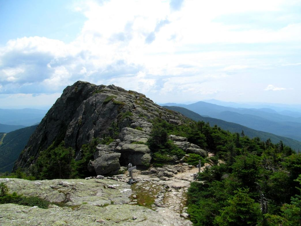 The summit of Vermont's highest, most legendary peak