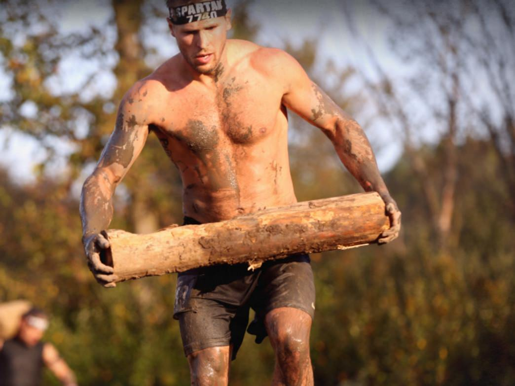 You'll want to do plenty of upper body work to prepare for the Spartan Race.