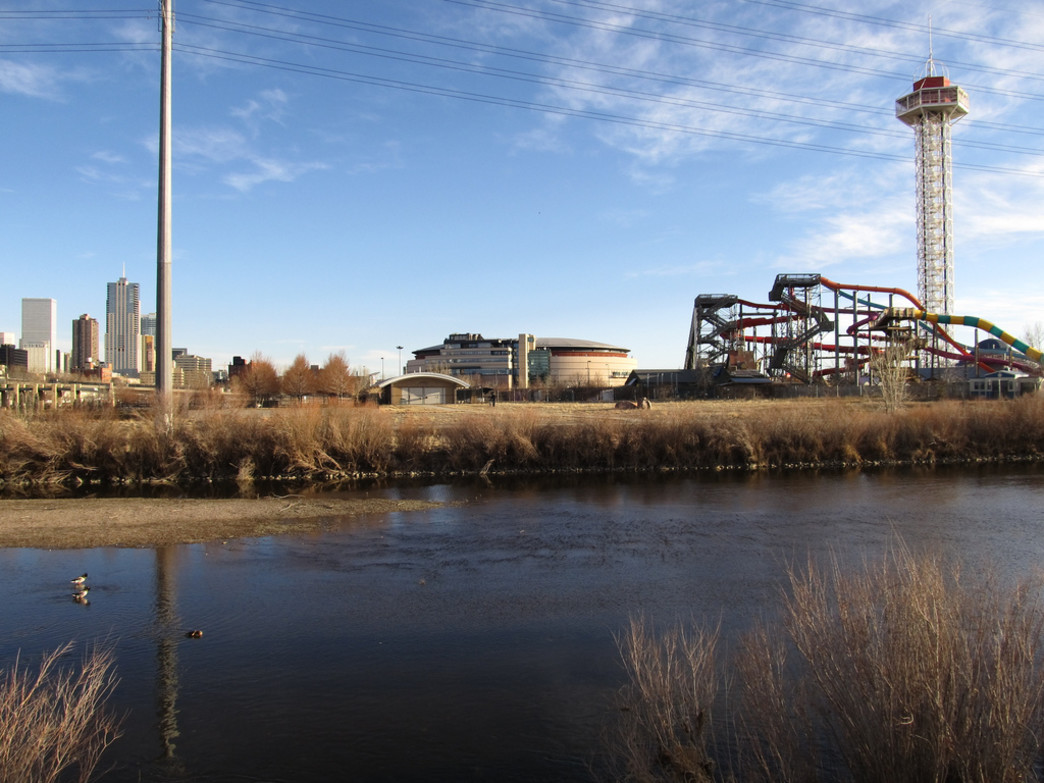 Confluence Park is a great place to start your run along the South Platte River Trail.