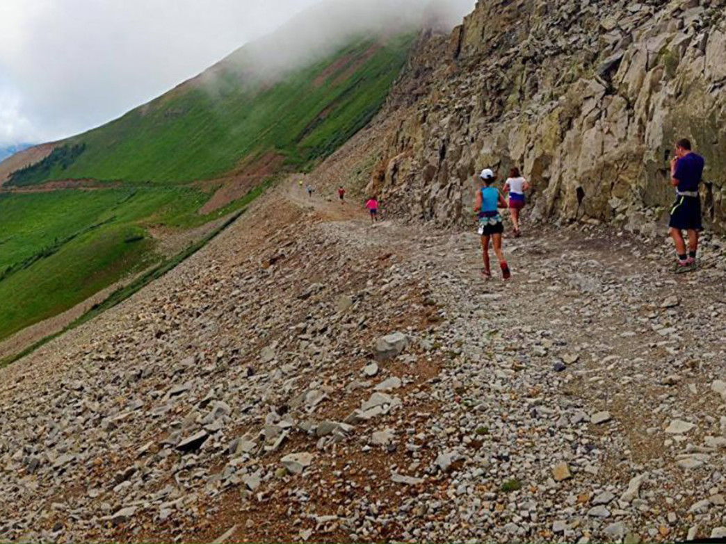 The Kennebec Mountain Run takes runners through the remote La Plata Mountains near Durango in southwest Colorado.