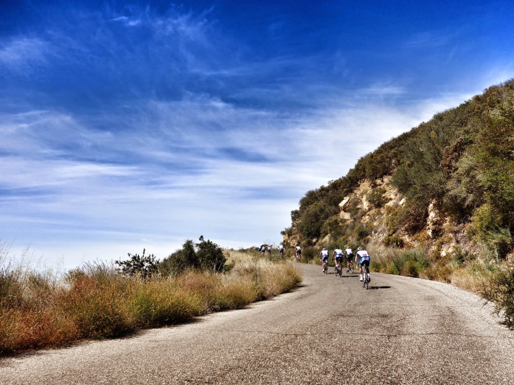 Gibraltar Road offers one of the most famous cycling climbs in the country—and one of the toughest.