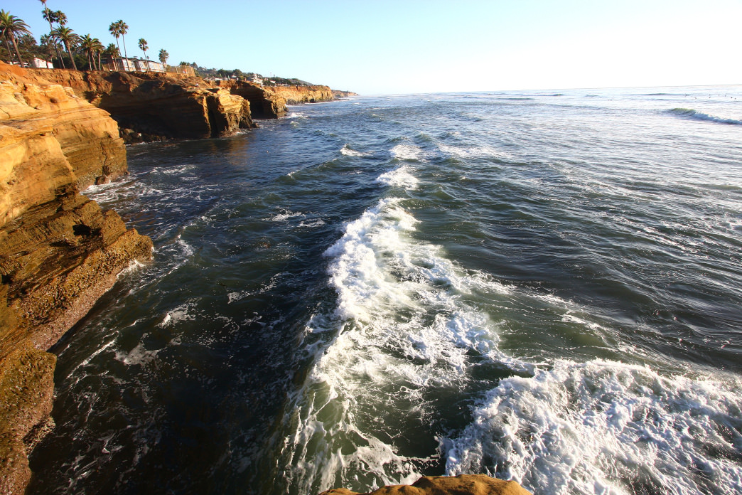 San Diego's Sunset Cliffs.