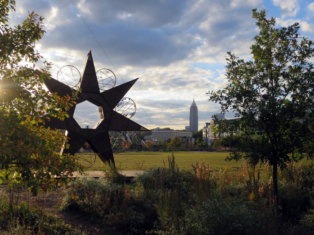 The popular Atlanta Beltline is a great way to get outside and enjoy the cool air of fall.