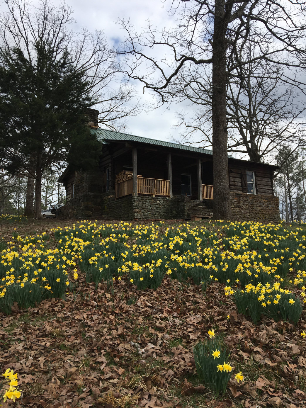 Eberhart is now the caretaker on top of historic Flagg Mountain in Weogufka, Alabama, where work is underway to restore the CCC cabins and fire tower from 1935.