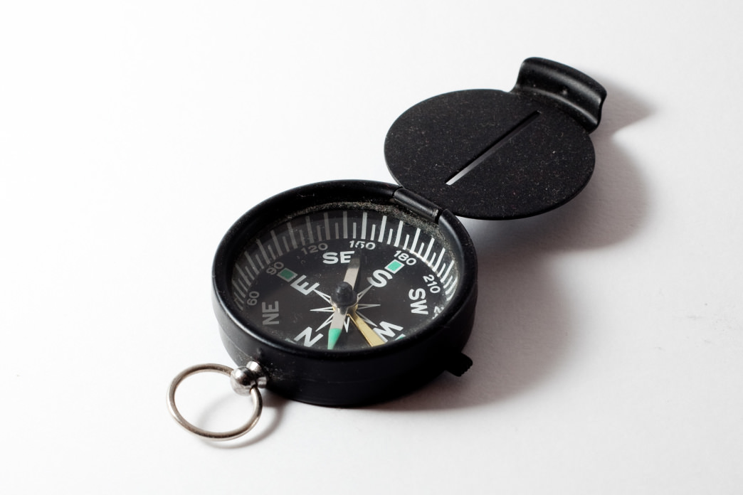 A compass is a crucial tool for helping hikers orient themselves when lost