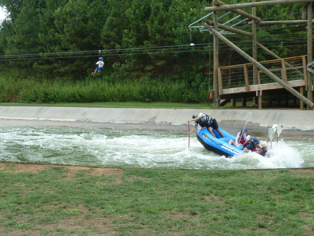A breezy zip line or splash filled raft trip cools down even the hottest summer day