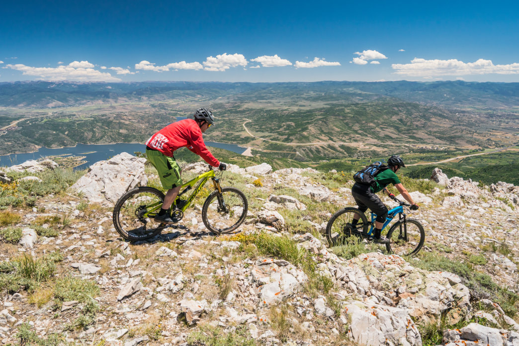 Deer Valley Resort is known for its incredible mountain biking trails.