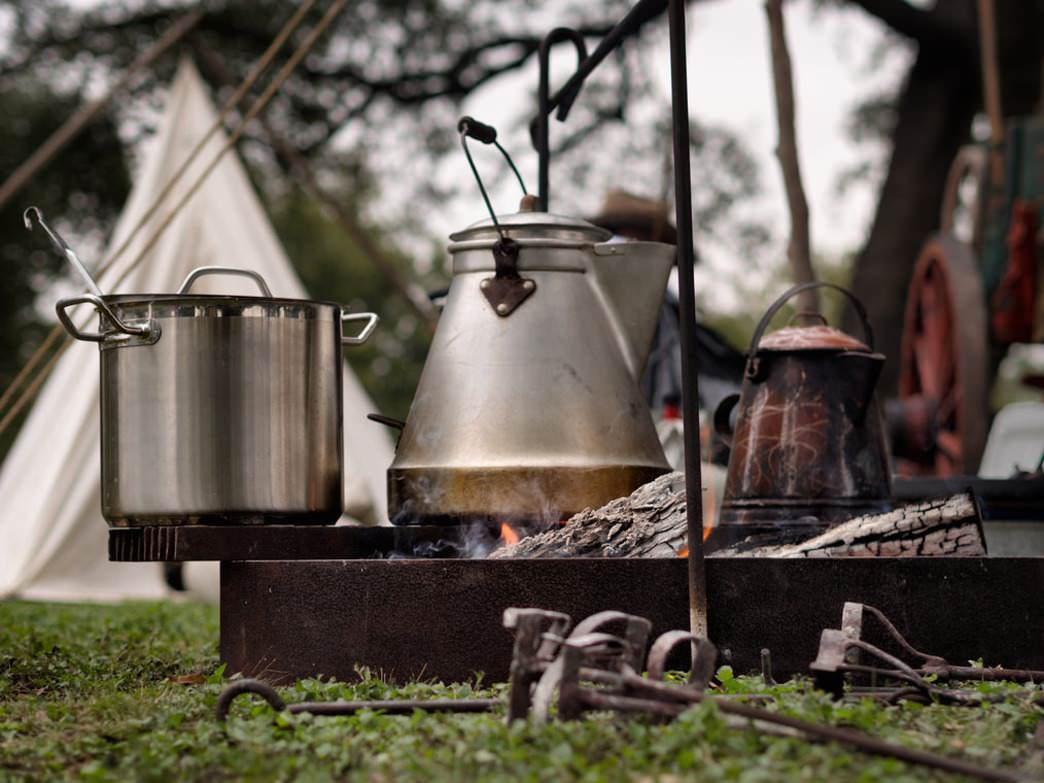 You'll be amazed by the meals that can be prepared by campfire.