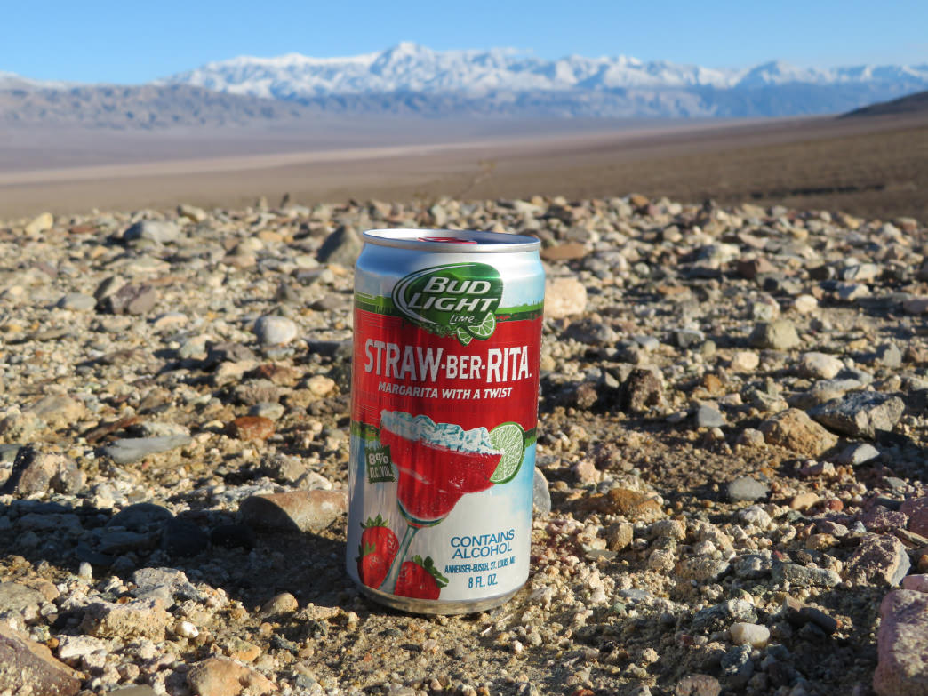 Straw-Ber-Ritas wouldn't be our first pick in the front country, but they're surprisingly refreshing in the backcountry.      Krista Diamond