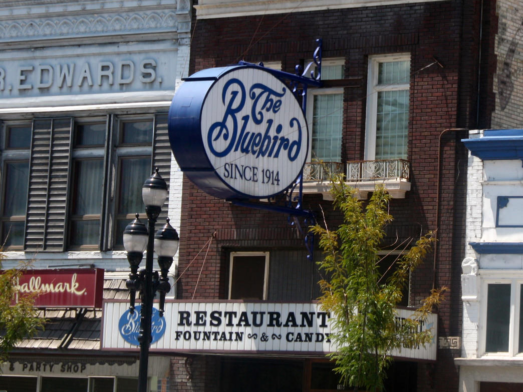 Among the oldest restaurants in Utah, The Bluebird dates back to 1914.