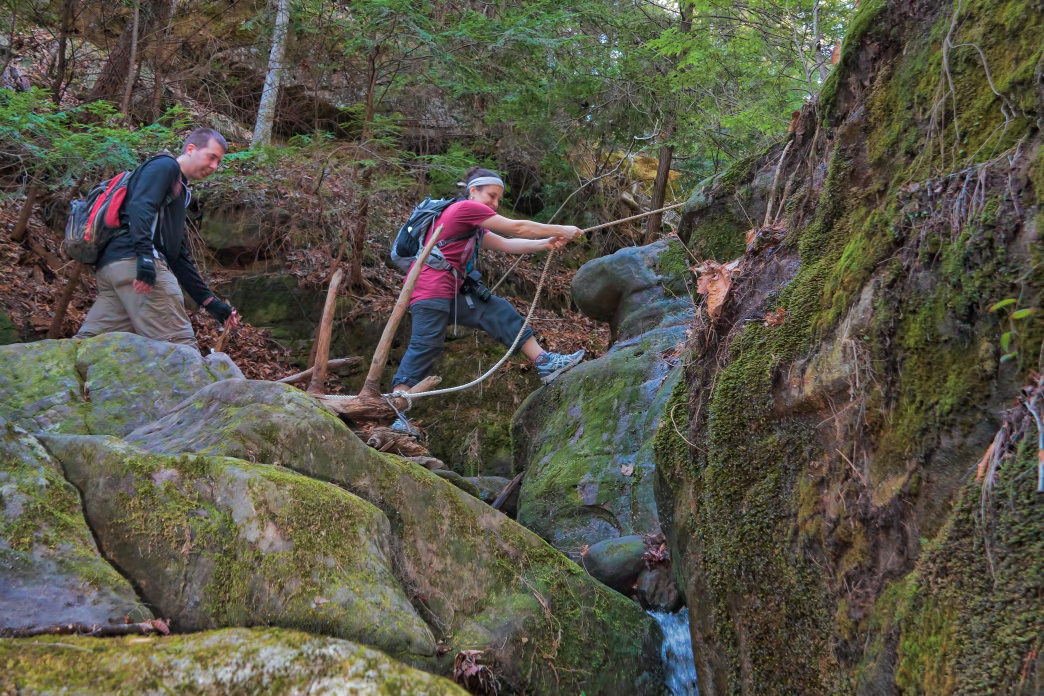 Loop hikes and out-and-back routes are simpler to plan.