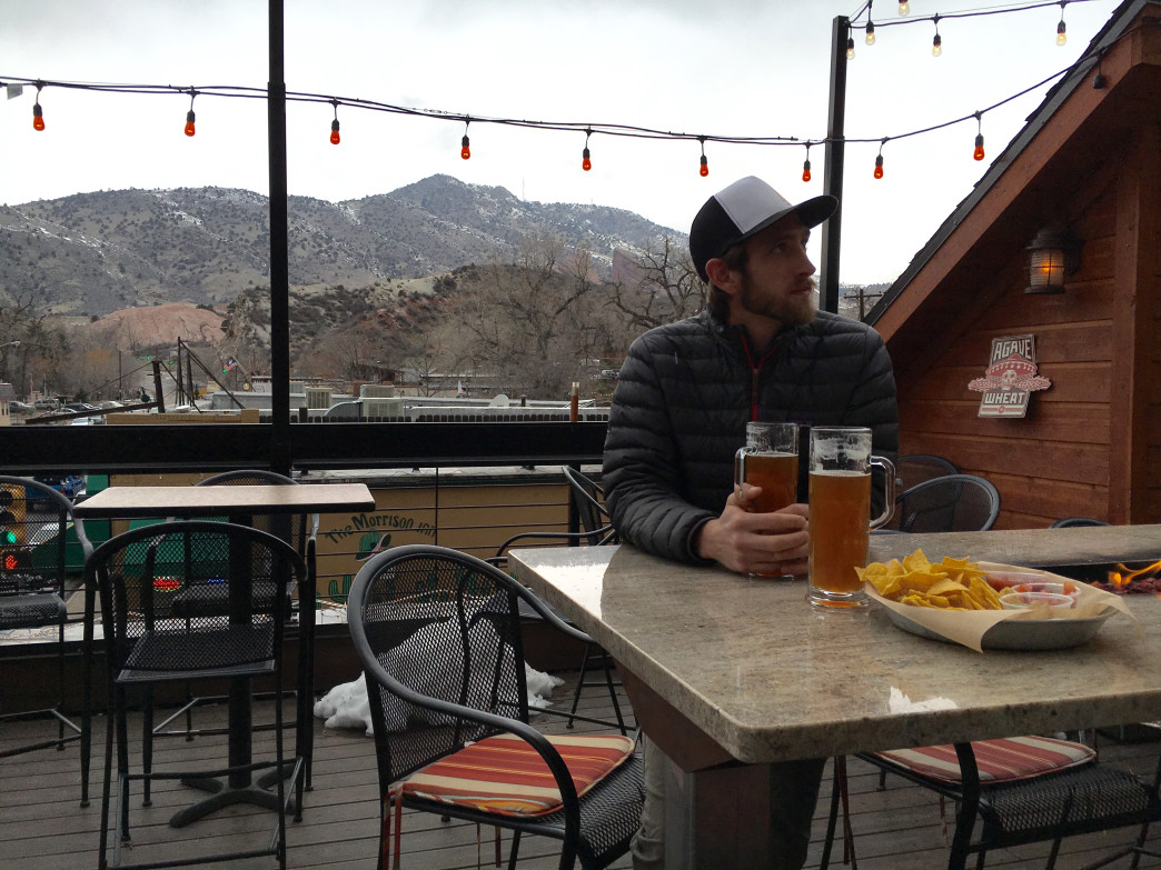 Take in classic Front Range views at Morrison's Roof Top Tavern.