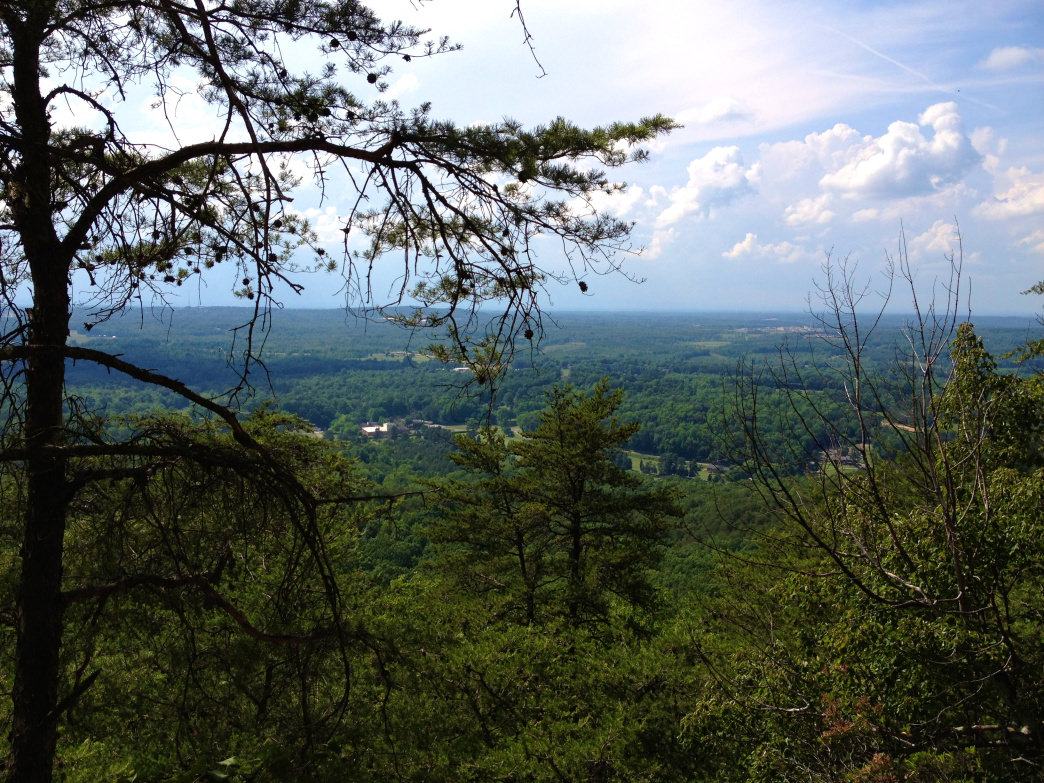 Crowders Mountain View.
