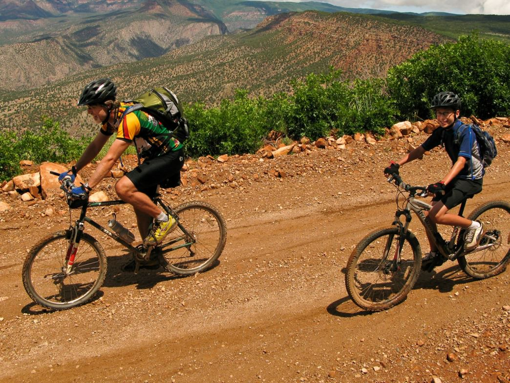 Desert views are on offer for any trail in Fruita.