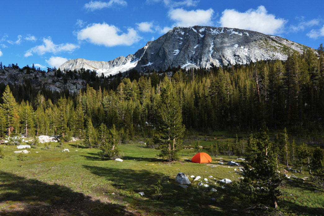 Part of this trek through Yosemite National Park is on the Pacific Crest Trail.