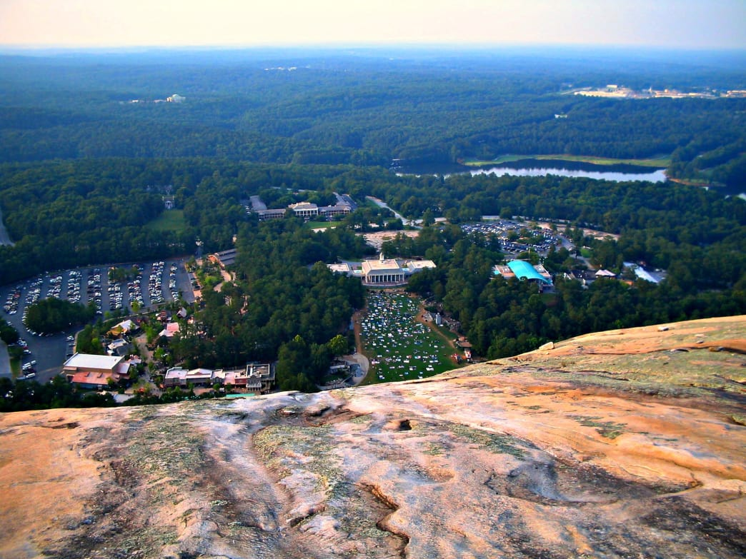 Amazing views from the summit of Stone Mountain make this trek worth the effort.