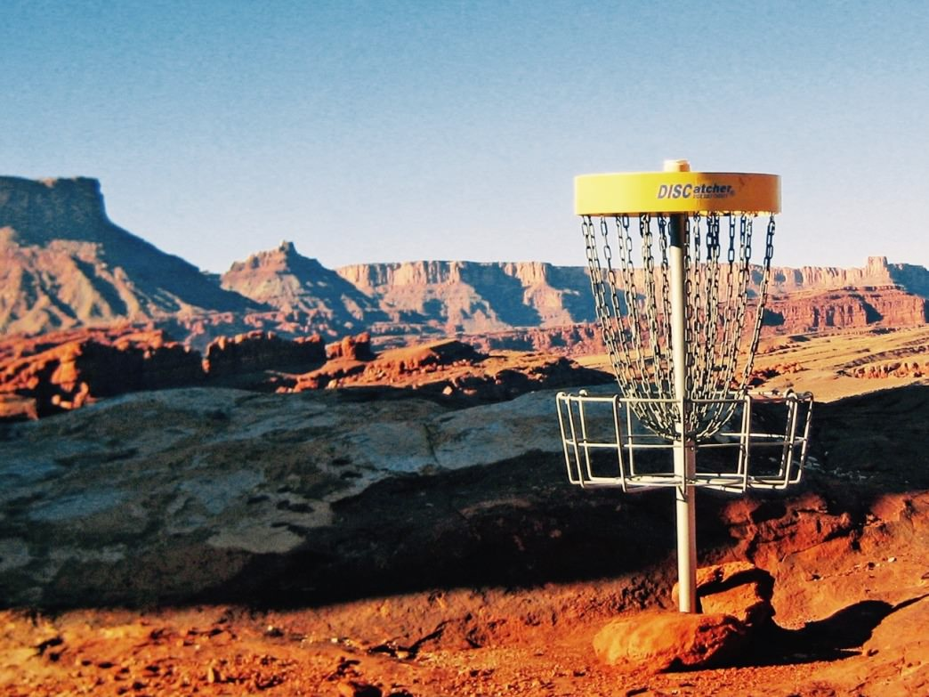 Moab's disc golf course is an otherworldly adventure.